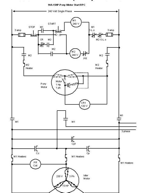 thompsons roto phase converter wiring diagram