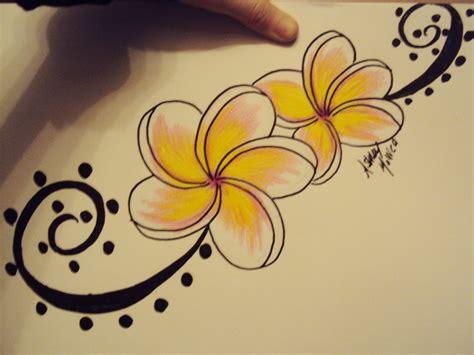 hawaiian plumeria tattoo designs plumeria designs pictures