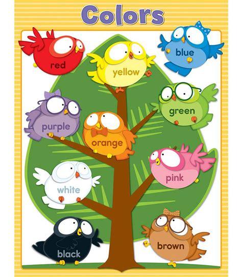 owl colors owl pals colors chart