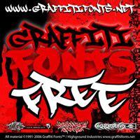 free graffiti graffiti fonts free font package