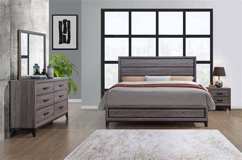 wood bedroom set kate beech wood grey bedroom set bedroom furniture sets