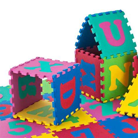 puzzle matte juniors 36 puzzle mat blocks puzzles board