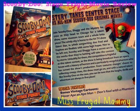 scooby doo stage fright  review  frugal mommy