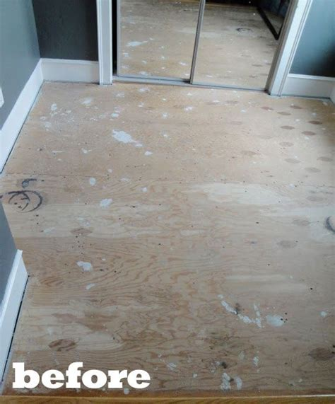 25 best ideas about painted plywood floors on