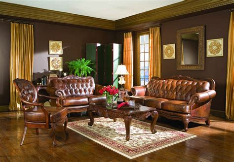 cheap leather sofa sets living room coaster victoria leather living room set home interior