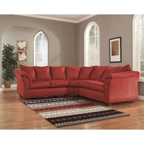 darcy sectional sofa flash furniture signature design by darcy