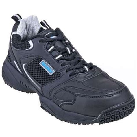 athletic steel toe work shoes nautilus shoes s n2111 black steel toe slip resistant