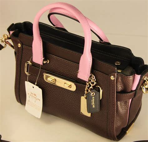 Coach Swagger Messenger 100 Authentic 99 best images about coach handbag collection on patent leather handbags and leather