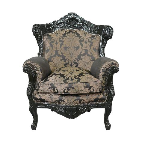 baroque armchair black wooden baroque armchair baroque furniture