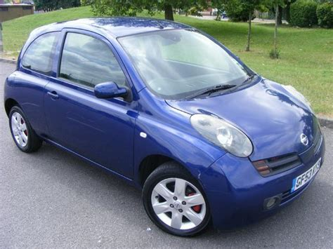 blue nissan micra 2003 nissan micra 3 doors partsopen