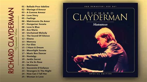 Hits Of Piano by Richard Clayderman Greatest Hits Of Piano The
