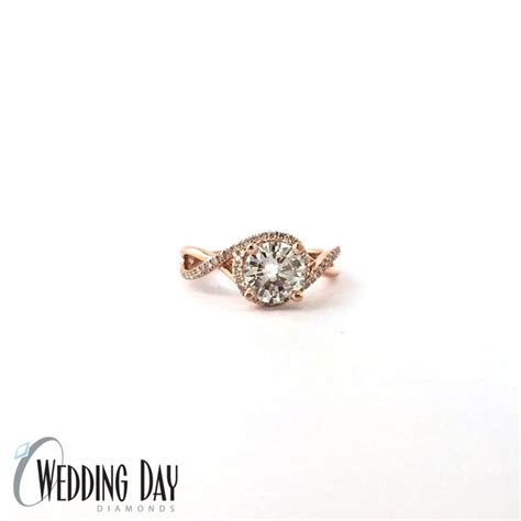 Side Accent Halo Ring 1216 104 best gabriel co rings images on rings