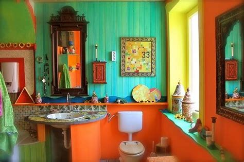 bohemian bathroom decor estate sale finds and shopping for boho chic decor