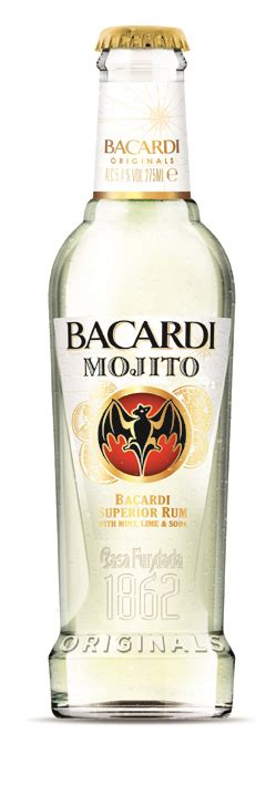 mojito cocktail bottle bacardi unveils mojito and cuba libre in a bottle