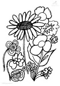 plant coloring pages flower coloring page
