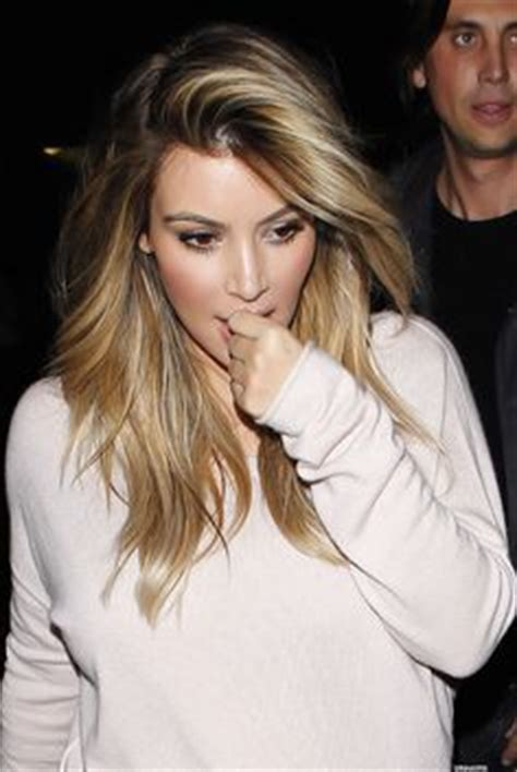 kim kardashian blonde balayage highlights photos 1000 images about hair color ideas on pinterest kim