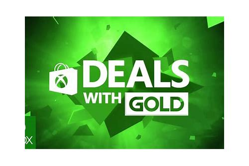 xbox live deals with gold april 21 2018