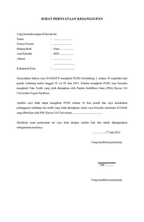 contoh surat pernyataan email contoh qq