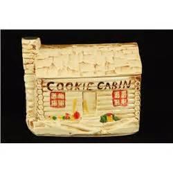 Mccoy Log Cabin Cookie Jar by Mccoy Log Cabin Cookie Jar