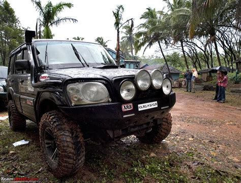 indian car on road modified mahindra scorpio suvs from the tasteful to the