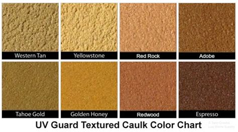 weatherall uv guard textured caulk creeks