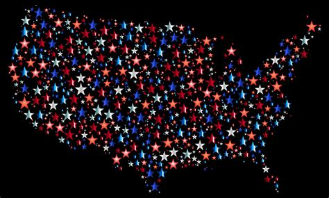 us map black background free vector graphic america united states usa map