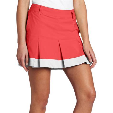 womens pleated tech golf skirt discount golf