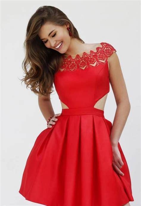 vestidos rojos corto vestidos cortos de gala
