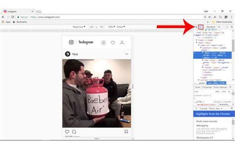 trik cara membuat instagram di komputer laptop tanpa gagal begini cara upload foto di instagram lewat pc tanpa
