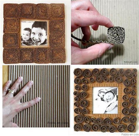 como hacer portaretratos de carton portaretratos de cart 243 n marcos pinterest