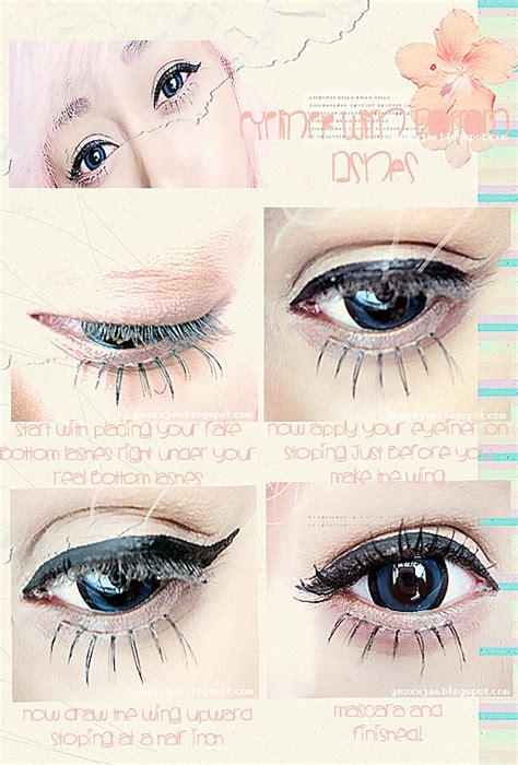 tutorial makeup ulzzang natural yun shock blog ulzzang makeup tutorial