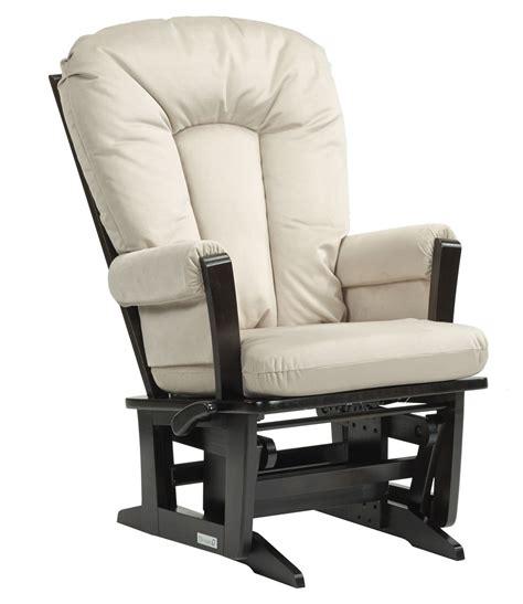 wood glider chair  beige dutailier