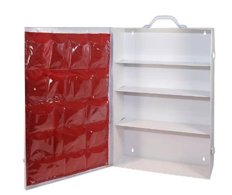 empty first aid cabinet medique products 701mtm 4 shelf first aid cabinet with
