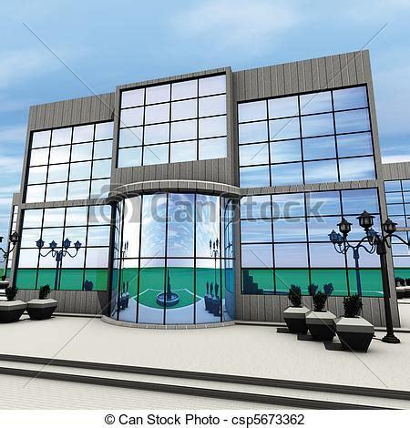 design art build co clip art of company front 3d rendering front commercial