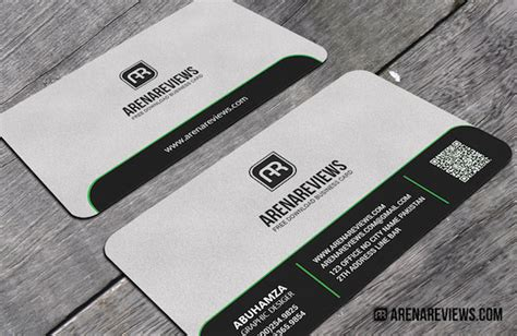business card template rounded corner psd 40 free business card psd templates devzum