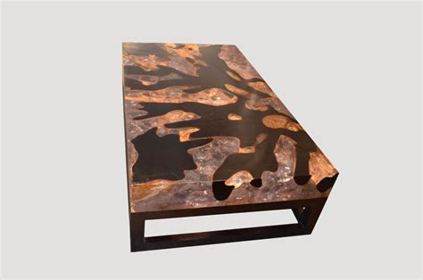 cracked resin coffee table cracked resin coffee table with base hos andrianna shamaris