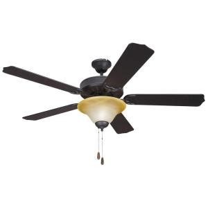 Home Depot Ceiling Fan With Light by Yosemite Home Decor 52 In Indoor Bronze Ceiling Fan With