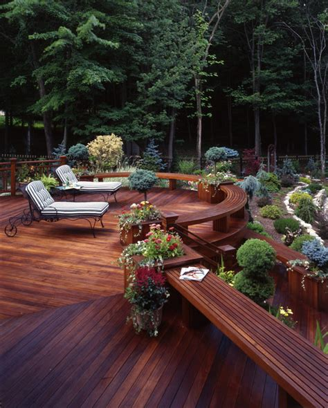 houzz backyard patio contemporary decks traditional deck new york by
