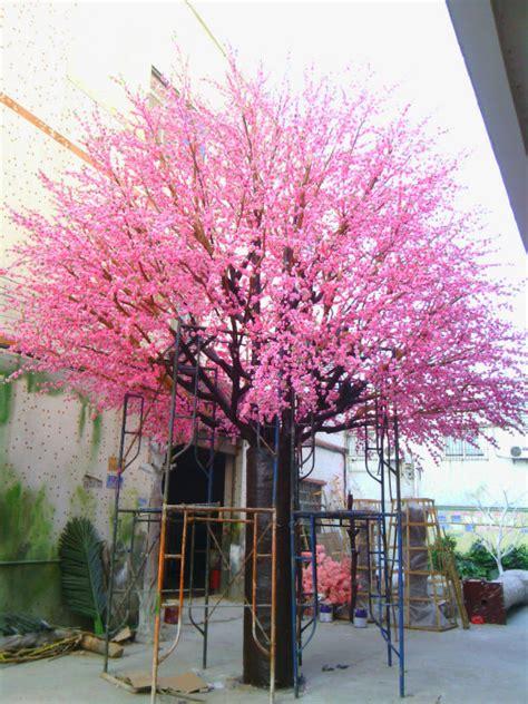 panas dijual murah buatan pohon persikbuatan bunga