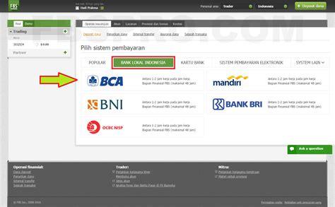 email notifikasi bca fbs forex broker terbaik cara deposit ke fbs