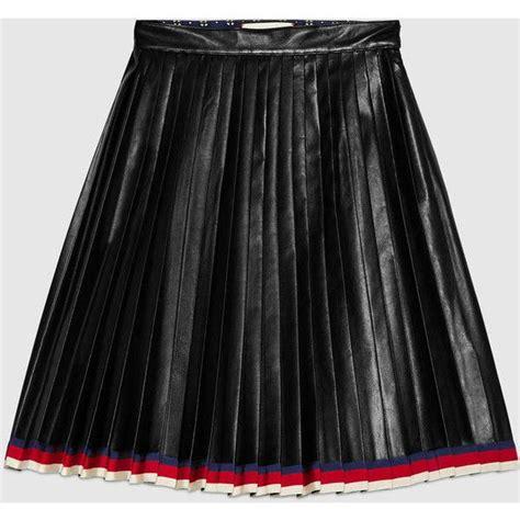 best 25 pleated leather skirt ideas on