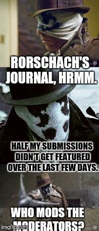 Journal Meme - who watches the watchmen imgflip