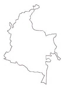 Outline Picture Of A by Geography Colombia Outline Maps