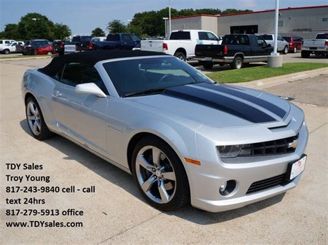 2011 silver camaro see slideshow for sale 30 988 silver 2011 chevrolet