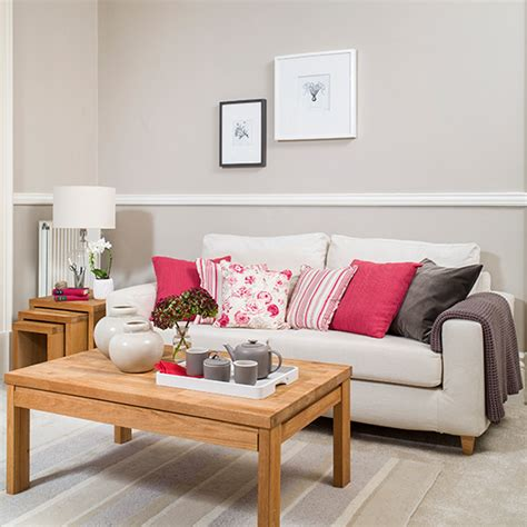 living room cushions uk neutral living room with pink cushions decorating