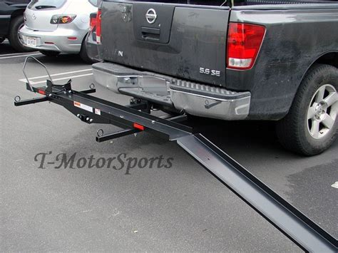 Trailer Hitch Motorcycle Rack by Sport Bike Motorcycle Carrier Truck Up Hauler Hitch