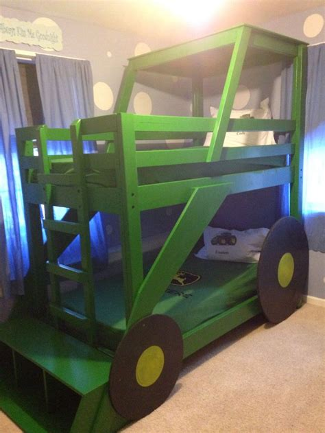 tractor bed 35 best images about bunk beds on pinterest tractor bed loft bed plans and ana white