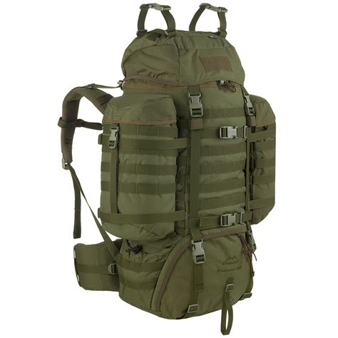 Lomberg Olive Rucksack 1 wisport raccoon 65l rucksack olive green backpacks rucksacks 1st