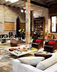 Loft Interior Design Renovated Loft With Industrial Interior Design Digsdigs