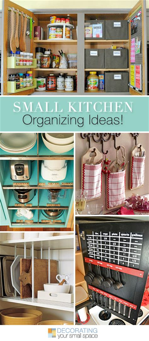 Ideas For Organizing Kitchen Small Kitchen Organizing Ideas Tips Ideas And Tutorials